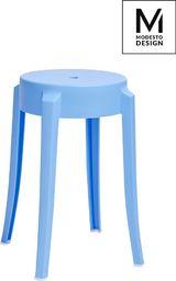 Modesto Design stołek CALMAR 46 niebieski - polipropylen