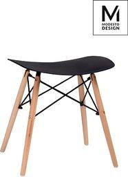 Modesto Design stołek BORD czarny - polipropylen, podstawa bukowa