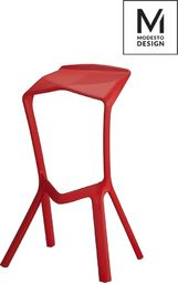 Modesto Design hoker MIURA czerwony - polipropylen