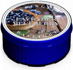 Kringle Candle Świeczka zapachowa Daylight Lavender Blueberry  35g