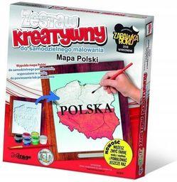 Mirage Zestaw kreatywny Mapa Polski