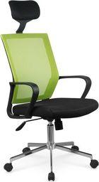 Halmar ACAPULCO fotel pracowniczy czarny / zielony