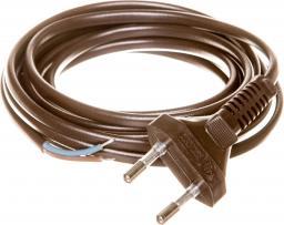 Zamel Przewód przyłączeniowy bez wyłącznika woreczek 300cm brązowy SP3,0 2X0,75 BRA (PRW10000464)