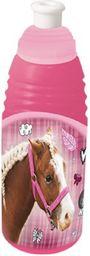 Beniamin Bidon plastiowy Nice&pretty - kids różowy 470ml