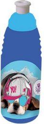 Beniamin Bidon plastikowy The Sweet Pets - pies granatowo-niebieski 470ml