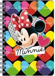 Derform Notes A6 Spiralny Minnie
