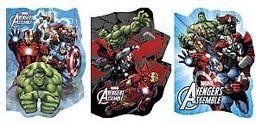 Derform Notes  A6 Kształtowy  Avengers 36k