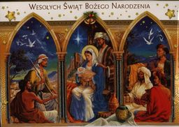 POL-MAK Karnet świąteczny religia lub świecki Mix