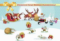 Sfinks Podkładka Świąteczna Na Stół Boże Narodzenie Dzieci