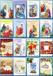 Top Graphic Karnet Świąteczny Religia Lub Świecki Mix
