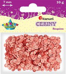 Titanum Cekiny okrągłe miedziane matowe 7mm 10g (CO7/1638)