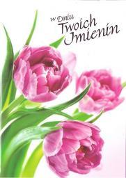 Artnuvo Karnet B6 Kwiaty W Dniu Twoich Imienin FF1276