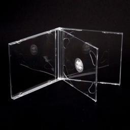Esperanza Box Bezbarwny Tray na 2 CD/DVD