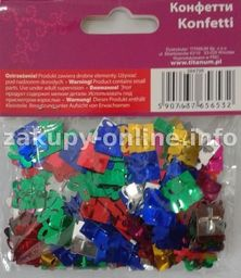 Titanum Konfetti Prezenty mix kolorów 14g