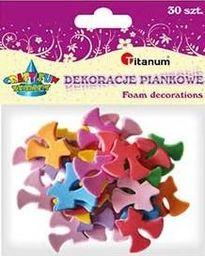 Titanum Dekoracje piankowe, kokardki, mix kolorów 31x29mm 30sztuk