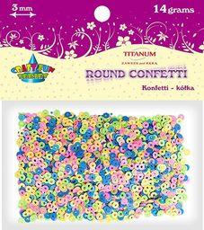 Titanum Konfetti kółka 3mm 14g (KK011)