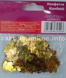 Titanum Konfetti Dzwonki żółte 14g (CR030)