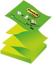 Blok biurowy Post-it Notesy samoprzylepne Post-It (R330-NA-eu),pastel,neon zielony 76x76 100k.