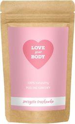 Love Your Body Peeling kawowy Soczysta Truskawka 100g