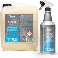 Clinex Środek do mycia, czyszczenia stali nierdzewnej Steel (77515)