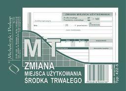 Michalczyk & Prokop Zmiana miejsca użytkowania miejsca trwałego (422-5)
