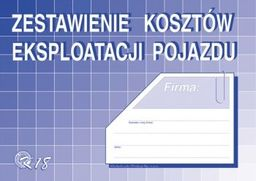 Michalczyk & Prokop Zestawienie kosztów eksploatacji pojazdu