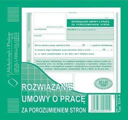 Michalczyk & Prokop Rozwiązanie umowy o pracę za porozumieniem (524-4)