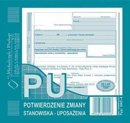 Michalczyk & Prokop Potwierdzenie zmiany stanowiska (560-4)