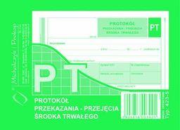 MICHALCZYK I PROKOP Protokół przekazania przejęcia środka trwałego (423-5)