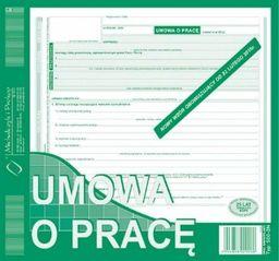 Michalczyk & Prokop Druki offsetowe Michalczyk I Prokop Umowa o pracę 2/3 A4 (500-2N)