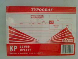 Typograf Druk kp A6 80 samokopiujący (01047)