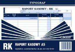 Typograf Raport kasowy A5 (01069)