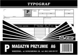 Typograf Druki samokopiujące magazyn przyjmie A6 (S) (01081)