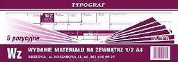 Typograf Wz 1/2 A4 5 pozycyjne s (01082)