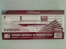 Typograf Druk wz 6 pozycji 1/3 A4 80 (01099)
