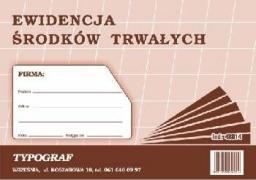 Typograf Druk ewidencja środków trwałych A5 (48014)