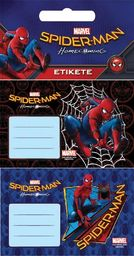 Eurocom Naklejki na zeszyt Spiderman 3