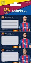 Eurocom Naklejki na zeszyt FC Barcelona 9/1