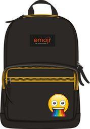 St. Majewski Plecak 1-komorowy Emoji czarny