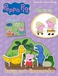 Świnka Peppa. Buduję park dinozaurów