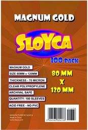 Baldar Koszulki Magnum Gold 80x120mm (100szt) SLOYCA