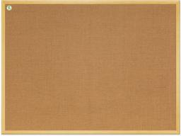 2x3 Tablica jutowa w ramie drewnianej 60x40cm