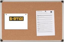 BI-OFFICE Tablica korkowa MAYA w ramie aluminiowej 120 x 90 cm