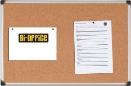 BI-OFFICE Tablica korkowa MAYA w ramie aluminiowej 60 x 45 cm