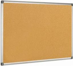 BI-OFFICE Tablica korkowa MAYA w ramie aluminiowej 90 x 60 cm