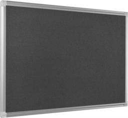 BI-OFFICE Tablica tekstylna 120 x 90 cm szara (PD0602)