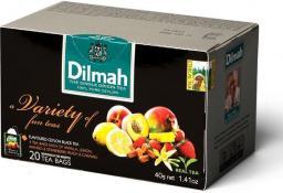 Dilmah Zestaw herbat dilmah variety of fun teas koperta 20/p