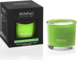 Millefiori Świeca zapachowa Green Fig & Iris 180 g