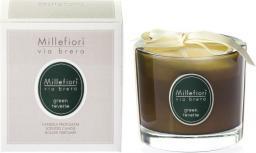 Millefiori MILLEFIORI_Via Brera Fragrance Candle świeczka zapachowa Green Reverie 180g