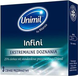 UNIMIL UNIMIL_Infini lateksowe prezerwatywy 3sztuki
